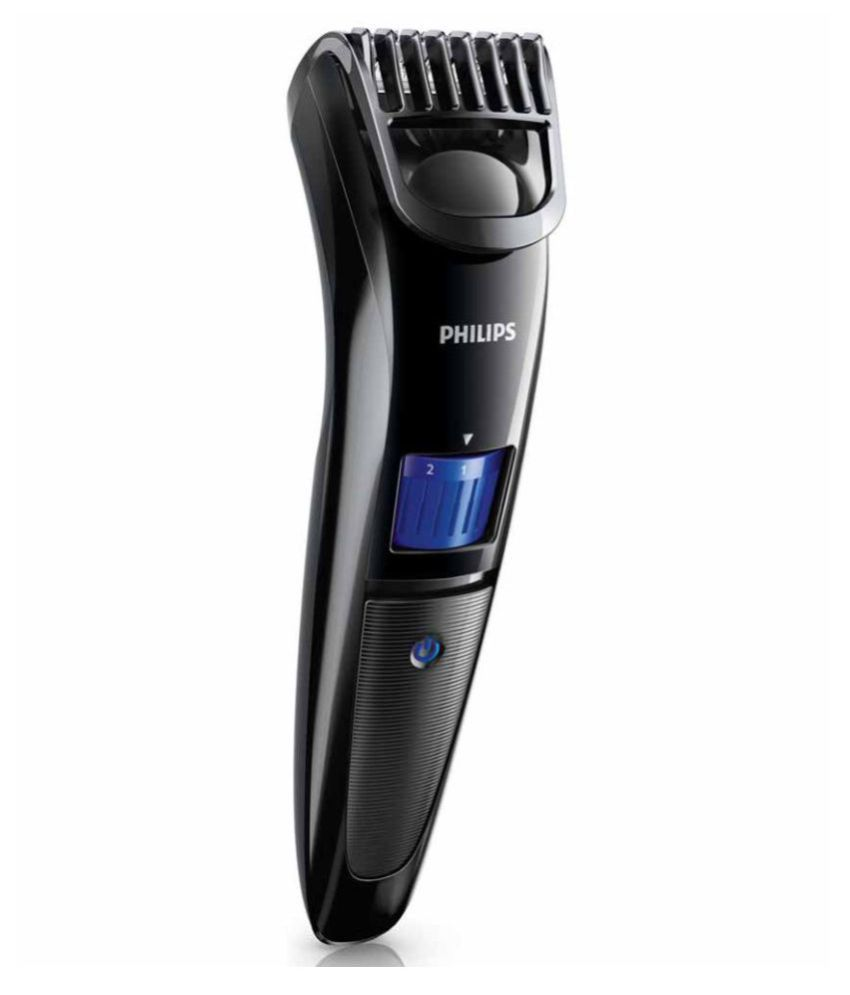 Philips Qt 4001 Trimmer For Men  (black)